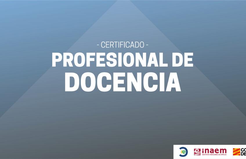 Certificado Profesional de Docencia